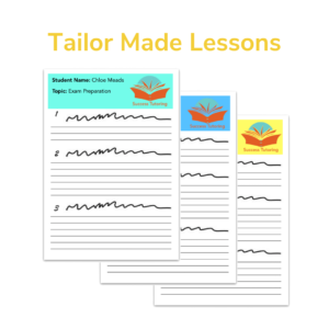 Tailor Made Lessons